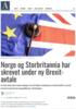 Norge og Storbritannia har skrevet under ny Brexit-avtale