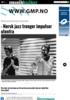 - Norsk jazz trenger impulser utenfra