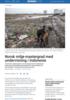 Norsk miljø-mastergrad med undervisning i Indonesia