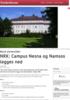 NRK: Campus Nesna og Namsos legges ned