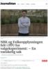 NRK og Folkeopplysningen felt i PFU for valgeksperiment: - En vanskelig sak