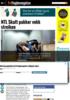 NTL Skatt pakker vekk streiken