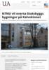 NTNU vil overta Statsbyggs bygninger på Kalvskinnet