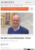 Ny leder av Juristforbundet - Privat