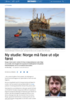 Ny studie: Norge må fase ut olje først
