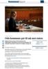 Oslo kommune går til sak mot staten
