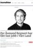Per Åsmund Reymert har fått fast jobb i Vårt Land