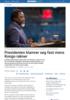 Presidenten klamrer seg fast mens Kongo rakner