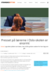 Presset på lærerne i Oslo-skolen er enormt