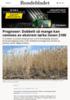 Prognoser: Dobbelt så mange kan rammes av ekstrem tørke innen 2100
