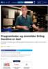 Programleder og anmelder Erling Sandmo er død
