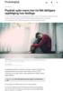 Psykisk syke menn kan ha fått dårligere oppfølging hos fastlege