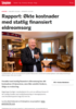 Rapport: Økte kostnader med statlig finansiert eldreomsorg