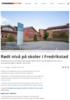 Rødt nivå på skoler i Fredrikstad