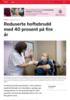 Reduserte hoftebrudd med 40 prosent på fire år