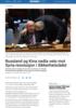 Russland og Kina nedla veto mot Syria-resolusjon i Sikkerhetsrådet