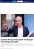 Sanner: Norge ikke tjent med egen teknologi-særskatt
