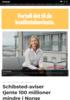 Schibsted-aviser tjente 100 millioner mindre i Norge
