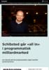 Schibsted går all in i programmatisk milliardmarked