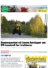 Senterpartiet vil kaste forslaget om EU-kontroll for traktorer