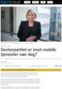 Senterpartiet er imot mobile tjenester nær deg?