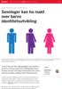 Sexologer kan ha makt over barns identitetsutvikling