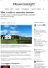 Skal vurdere samiske museer