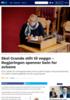 Skei Grande stilt til veggs: - Regjeringen spenner bein for avisene