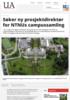 Søker ny prosjektdirektør for NTNUs campussamling