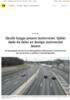 Skulle bygge penere motorveier. Sjåfør døde da deler av design-autovernet løsnet