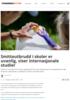 Smitteutbrudd i skoler er uvanlig, viser internasjonale studier