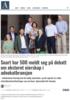 Snart har 500 meldt seg på debatt om eksternt eierskap i advokatbransjen