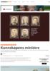 SOMMERSERIE: Kunnskapens ministre