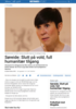 Søreide: Slutt på vold, full humanitær tilgang