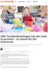 SSB: Foreldrebetalingen har økt med to prosent - se status for din kommune