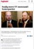 Stadig større SV-motstand i Senterpartiet
