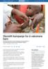 Storstilt kampanje for å vaksinere barn