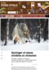Stortinget vil stanse utvidelse av ulvesonen