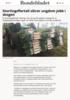 Stortingsflertall sikrer ungdom jobb i skogen