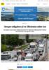 Strengere utslippskrav på vei: Bilindustrien stritter imot