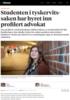 Studenten i tyskervits-saken har hyret inn profilert advokat