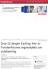 Svar til Jørgen Carling: Her er Forskerforums regnestykke om publisering