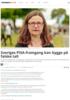 Sveriges PISA-framgang kan bygge på falske tall
