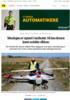 Teknologien er utprøvd i landbruket. Nå kan dronene levere smådeler offshore