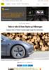 Tesla ligger seks år foran Toyota og Volkswagen