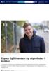 Tidligere Aftenposten-redaktør Espen Egil Hansen ny styreleder i Shifter