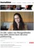 To DN-saker om Morgenbladet har blitt slettet kort tid etter publisering