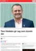 Tom Hedalen gir seg som styreleder