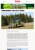 Traktorstatisikken: Grønn triumf i krisetid