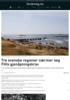 Tre svenske regioner nærmer seg FHIs gjenåpningskrav